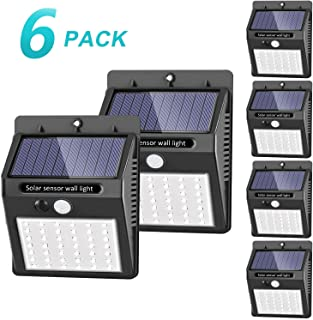 lampara solar led con detector movimiento