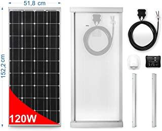 30 Pies Rojo + 30 Pies Negro 30 pies 10AWG con Conector Hembra y Macho MC4 Kit de Adaptador de Panel Solar BougeRV Cable de Extensi/ón Solar 9m