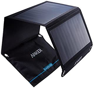 Anker Cargador solar 21W Dual USB- PowerPort Solar para iPhone 7 - 6s - Plus- iPad Pro - Air 2 - mini- Galaxy S7 - S6 - Edge - Plus- Note 5-4- LG- Nexus- HTC y mas