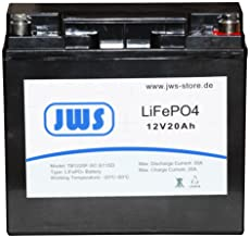 Bateria de litio Solar Bateria 20 Ah 12 V Lifepo4 battery