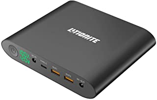 Litionite Tanker Mini 25000mAh Power Bank-Bateria Externa en Aluminio con Display LED - 2X USB (Quick Charge) - 1x USB Type C - 1x DC - Cargador portatil para PC-Computadora-Ordenador-Macbook-Celular