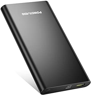 POWERADD Pilot 2GS Pro Bateria Externa 10000mAh PD18W Cargador Portatil con Type-C Power Bank Power Delivery Carga Rapida 3.0 para iPhone- iPad- Samsung- Huawei- Xiaomi Note 7 y Mas Dispositivos