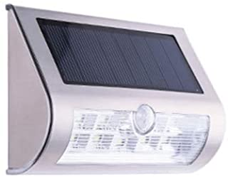 Vinteen Lampara Solar de Pared Lampara de Pared Lampara de Pared Control de luz Lampara de Pared LED Creativa Luz Exterior Impermeable para jardin Luz de Puerta de energia Solar IP55