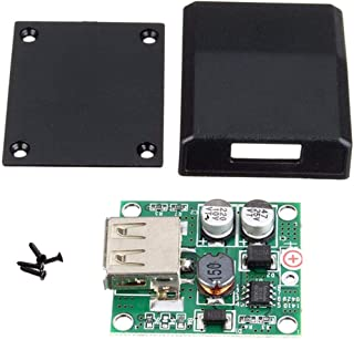 Yrytiu Kit Arduino Compatible- Caja Cargador de Panel Solar Kit Especial for produccion electronica DIY 5V 2A Regulador de Voltaje Union Kit de Bricolaje